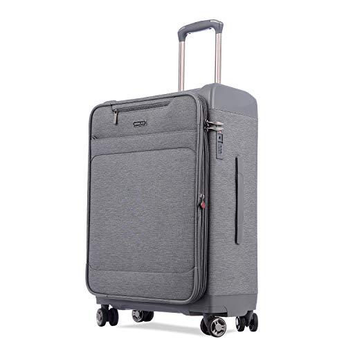 [해외]Uniwalker 방수 가방 용량 확장 가능한 초경량 캐리 가방 여행 출장 운반 케이스 TSA 자물쇠 단단한 저소음 S 형 기내 반입 / Uniwalker Waterproof Ingly S- Compact Suitcase Capacity Expandable Ultra Light Carry Bag Travel Travel Carry Case...