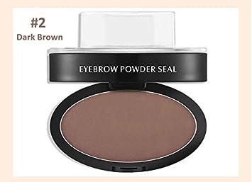 Amazon.com : Wisdompark Professional Eyes Makeup Brow Stamp Seal Eyebrow Powder Waterproof Grey Brown Eye Brow Powder with Eyebrow Stencils Brush Tools ...
