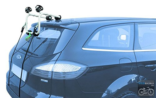 PICOYA 381 Portabicicletas de Portón Trasero para 1 Bicicleta: Amazon.es: Coche y moto