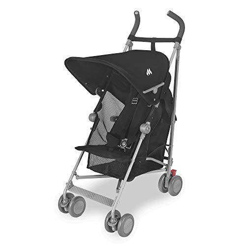 41zygtP17UL - Maclaren Sherpa Stroller - Super Lightweight, Sleek, Compact, Easy To Steer, Waterproof/UPF 50+ Hood, Roomy Shopping Basket, Single Position Seat, Replaceable Parts Available
