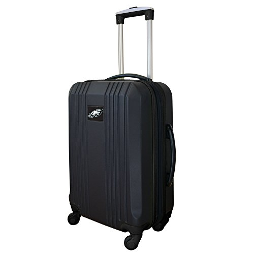(Denco NFL Philadelphia Eagles Round-Tripper Two-Tone Hardcase Luggage Spinner)