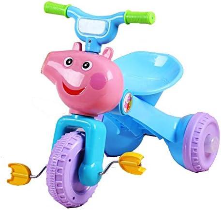 SXZHSM Tríciclo para niños, Luces de música Plegables para 1 – 6 años de Edad, Bicicleta de bebé, Patinete de Bicicleta, Carrito de bebé: Amazon.es: Hogar