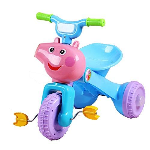 SXZHSM Tríciclo para niños, Luces de música Plegables para 1 ...