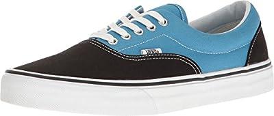 Vans Unisex Era (Canvas) Black/Cendre Blu Skate Shoe 4 Men US/5.5 Women US