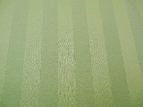 Paylessfabric Swatch Sample Fabric Tablecloth Brocade Satin Stripe Sage Green BB40