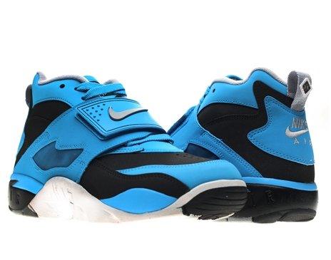Nike Mens Air Diamond Turf Black/Wolf Grey-Blue Hero Size 10 (Nike Diamond Cross)