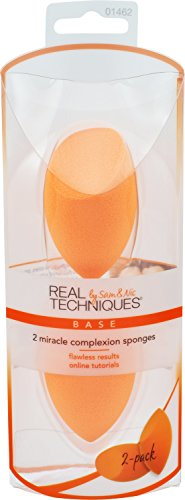 Real Techniques Miracle Complexion Sponge (2 sponges in each pack)