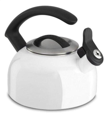 Kitchenaid 1.5-quart Remv Lid Tea Kettle Whistle /C Handle Kten15anwh White Gift for Your Family