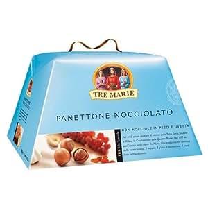Le Tre Marie Panettone Glassato Alle Nocciole with Hazelnuts and Meringue 900 gram