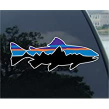 "Patagonia Fish 7"" Sticker Decal"
