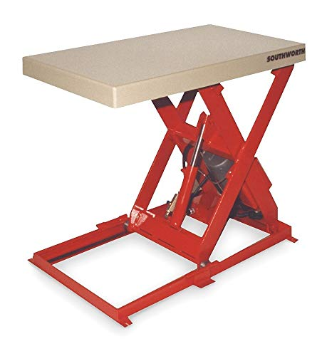 Southworth Scissor Lift Table, 1500 lb., 115V, 1 Phase - LL1.5-35-2448