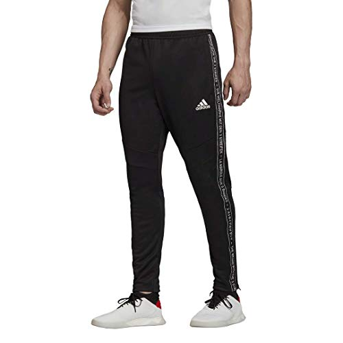 adidas mens Tiro 19 Training Pants Black/Black