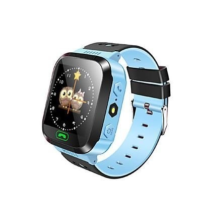 GPS Tracker Kids Smart Watch for Children Girls Boys with Camera SIM Calls Anti-Lost SOS Smartwatch Bracelet Compatible iPhone Android Smartphone ...