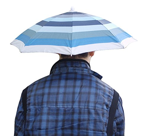 Sun and Rain Protection Umbrella Hat