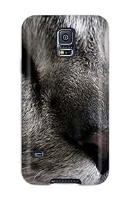 5037130K63898380 Galaxy S5 Cat Tpu Silicone Gel Case Cover. Fits Galaxy S5