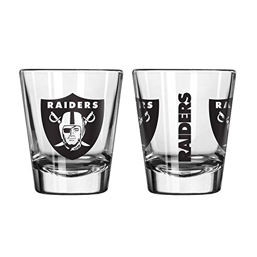 (Oakland Raiders Game Day 2oz Shot Glass)