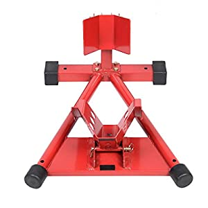 Motorcycle Motorbike Bike Stand 1500LB Front Wheel Chock Lift Stand Auto Bike