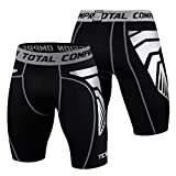 TCA Men's CarbonForce Pro Compression Shorts