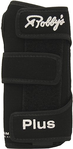 Robby's Cool Max Plus Right Hand Bowling Wrist Support, Black, X-Large