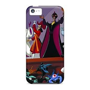 New Premium DCs53798UTfQ Cases Covers For Iphone 5c/ Disney Baddies Protective Cases Covers