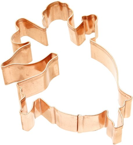 Old River Road Fairy Shape Cookie Cutter, Copper Fairy Cookie Cutter