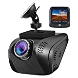 Acumen Dash Cam Camera for Cars Video Recorder Traffic Dashboard with Wide Angle Vehicle Dashboard Camera Recorder Exmor Sensor WDR Loop Recording (Black) Review
