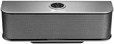 Bluetooth Speakers, TaoTronics Stereo 20W Wireless Portable Speaker (Dual 10W Drivers, Dual Passive Subwoofers, Strong Bass, Aluminum-Alloy, Bluetooth 4.0, Built-in Microphone)