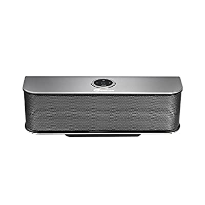 Bluetooth-Speakers--TaoTronics-Stereo-20W-Wireless-Portable-Speaker--Dual-10W-Drivers--Dual-Passive-Subwoofers--Strong-Bass--Aluminum-Alloy--Bluetooth-4-0--Built-in-Microphone-