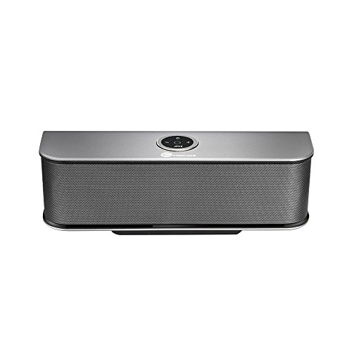 Bluetooth Speakers, TaoTronics Stereo 20W Wireless Portable Speaker (Dual 10W Drivers, Dual Passive Subwoofers, Strong Bass, Aluminum-Alloy, Bluetooth 4.0, Built-in Microphone) (Electronic Portable Speaker)