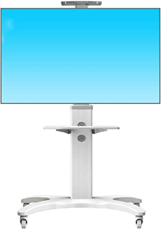 ZYH-Shelf Carrito para TV con Ruedas, Pantalla Soporte para TV Móvil para 32-65 Pulgadas LCD LED Plasma con Ruedas, Carrito para TV Móvil Universal Ajustable En Altura, Soporte para Piso: Amazon.es: Hogar