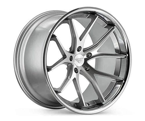Ferrada Wheels FR2 20x10.5 5x114 ET15 Machine Silver/Chrome Lip C.B 73.1 ()