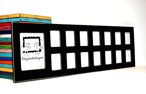 School years collage picture frame,15 opening pre k-12 Pre-school through graduation it holds 1) 5x7 & 14) large wallets 2.5