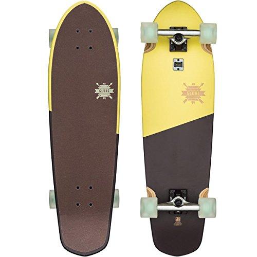 GLOBE Skateboards Big Blazer Cruiser Complete Skateboard, Lemon, 32″