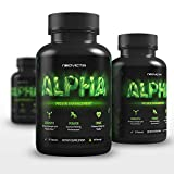 Neovicta Alpha Testosterone Booster for Men - Male Enhancing Pills - Enlargement Supplement - Increase Size, Stamina, Vitality & Strength - Fat Loss & Muscle Growth Test Boost