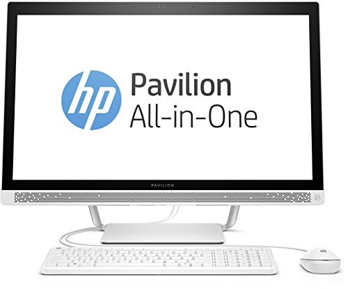HP Pavilion 27-a152ng (Y6X25EA) 68,6 cm (27 Zoll / FHD IPS) All in One Desktop PC (Intel Core i7-6700T, 8 GB RAM, 128 GB SSD, 1 TB HDD, NVIDIA GeForce 930A, Windows 10 Home 64) weiß