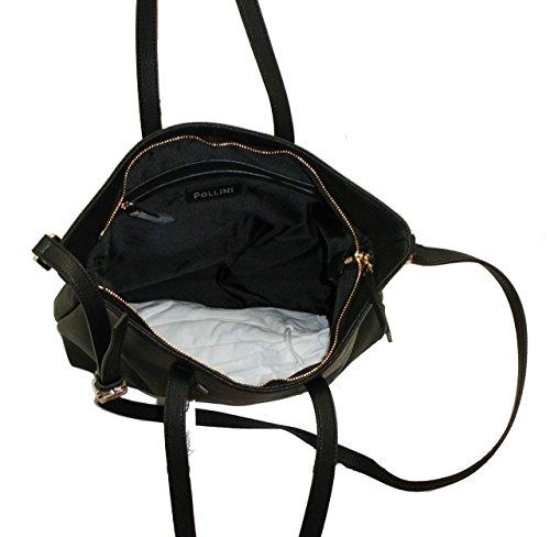 Pollini , Sac pour femme à porter à l'épaule noir noir grande