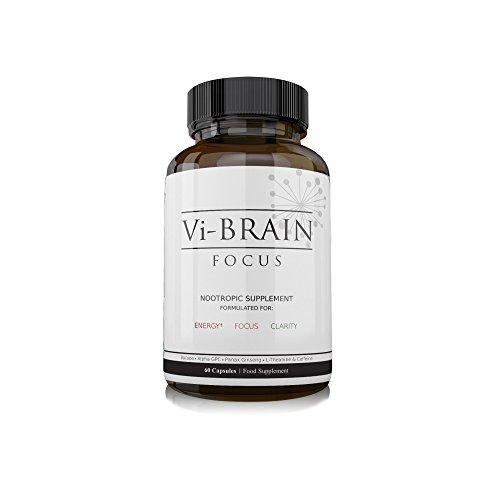 Vi-Brain Nootropics Supplement - Brain Support Supplement, Improves Mental...