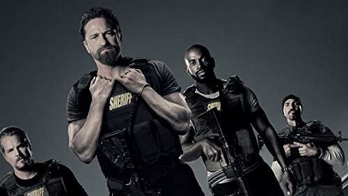 Gabriela 25inch x 14inch Den of Thieves Gerard Butler Pablo Schreiber O'Shea Jackson Jr. Waterproof Poster (Bathroom, Outdoors wherever you like) By