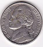 1994-P Jefferson Nickel Coin by US Mint