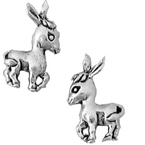 Donkey EarringsSterling Silver Earrings