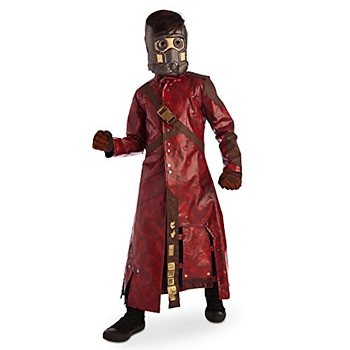 Disney Store Deluxe Star Lord Costume Guardians of the Galaxy XS Extra Small 4 4T