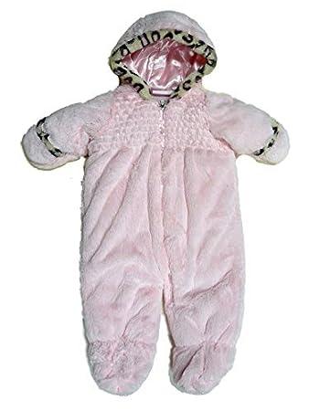 Amazon.com: Pistacho bebé niñas color rosa felpa de coches ...