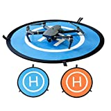 PGYTECH Huaye Waterproof Landing Pad for Drones Quadcopter Parts Drone Accessories Landing Gear for DJI Mavic 2 Pro/Mavic 2 Zoom/Mavic Pro Phantom 2/3/4/Pro Inspire 1/2 (110CM)