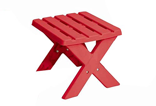 American Plastic Toy APT13550 Kids Adirondack Table Playset, Assorted Colors (Playsets Outdoor Affordable)