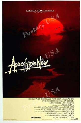 Amazon Com Posters Usa Apocalypse Now Movie Poster Glossy Finish Mov010 24 X 36 61cm X 91 5cm Posters Prints