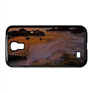 Rocky Beach 42 Watercolor style Cover Samsung Galaxy S4 I9500 Case (Beach Watercolor style Cover Samsung Galaxy S4 I9500 Case) by lolosakes