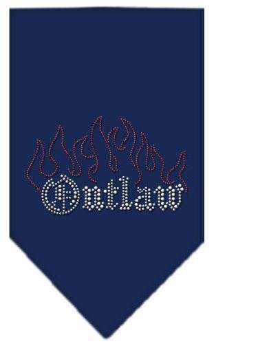 Outlaw Rhinestone Bandana Navy Blue large Case Pack 24 Outlaw Rhinestone Band... by DSD
