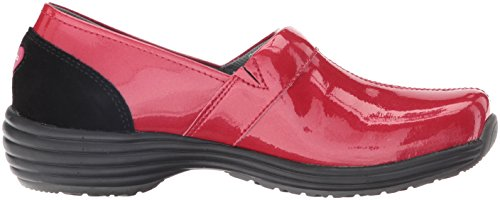Sanita Womens O2 Mocassino Slip-on Life-ease Rosso