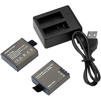 Amazon.com : Newmowa 1100mAh Rechargeable Battery (2-Pack ...
