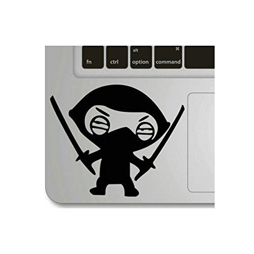 Echohc Keypad Sticker – Masked Boy with Knives – Creative DIY Vinyl Apple Macbook Pro Air Retina 13 Inch Symbol Keypad Front Decal Sticker Humor Handm…